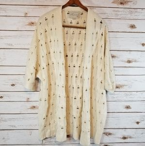 Ethereal by Paper Crane | Cream  Cardigan